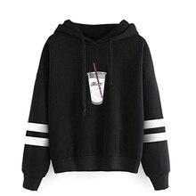 FRDUN TOMMY Ice Coffee Splatter Hoodies Sweatshirts Women ho
