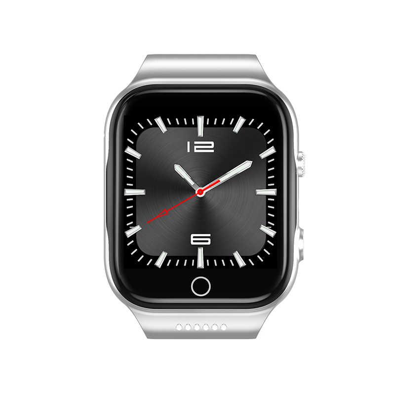 X89 שעון חכם אנדרואיד 5.1 MTK6580 16G ROM 1 RAM שעון גברים 3G SIM WiFi ספורט כושר מצלמה GPS Relogio Inteligente PK dm99