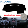 MIDOON крышка приборной панели автомобиля Приборная панель коврик для приборной панели анти-УФ для Volkswagen VW Golf GTI/Golf R/Golf 6 MK6 2010-2012