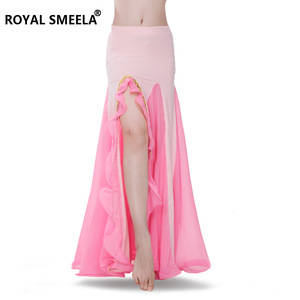 Image 2 - Women Hot Sale Gorgeous Belly dance skirt Sexy belly dancing skirt belly dance costumes bellydance clothes performance wear 6014