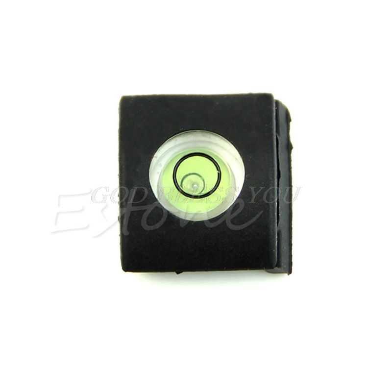 Đèn Flash Hot Shoe Cover Nắp Bong Bóng Mức Độ Tinh Thần Cho Canon Dành Cho Nikon Olympus Camera