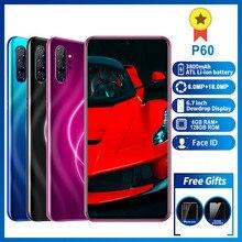 Smartphone P60 phones MTK6595 6.7
