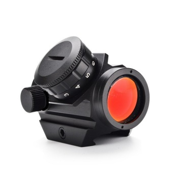 Tactical 1x25MM Red Dot Sight Scope Optic Hunting Riflescope With 11/20mm Rail Mount Collimator Outdoor Hunting Air Guns Rifle askco optic sight 3x magnifier scope compact hunting riflescope sights with flip up cover fit for 20mm rifle gun rail mount