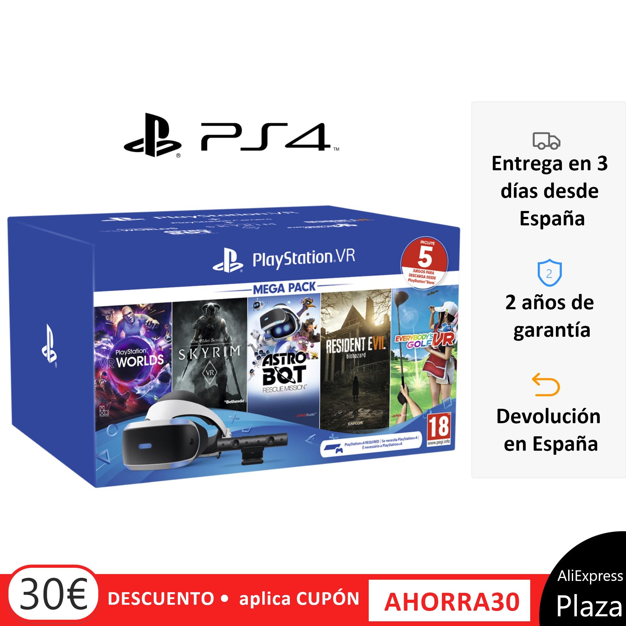 PlayStation VR Megapack 5 Sets Fishing Game Fox Ps4 Age 16 +