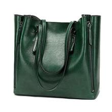 Nueva moda de gran capacidad de cuero PU bolso de hombro femenino Casual de Color sólido bolsos de lujo Bolsos De Mujer Deisnger Bolsa