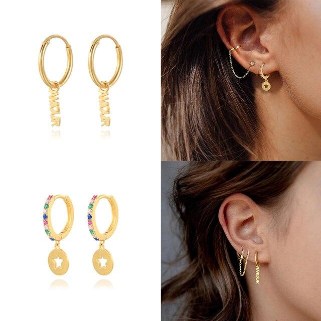 sterling fun geometric earrings 2