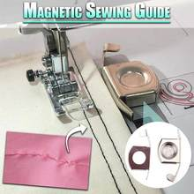 2pcs Magnetic Seam Guide Tools Seams A Perfect Straight Edges Home DIY Sewing Tool Multiple Practical Magnetic Seam Guide