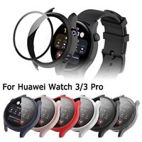 Custodia protettiva per Huawei Watch 3 Pro Cover protettiva per Huawei Watch 3 46MM 48MM pellicola protettiva per schermo in vetro temperato
