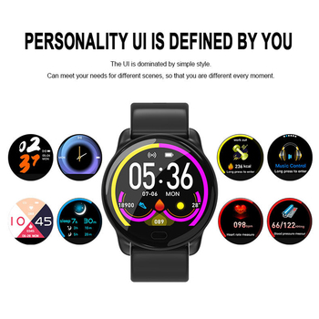 K9 Sport Bluetooth 1.3 Inch Full Touch Screen Smart Watch Fitness Tracker Men IP68 Waterproof Women Smartwatch PK V11 Q8 image