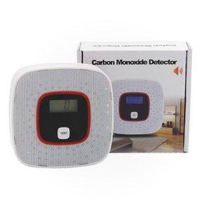 CO Gas Detector Home Security Alarm Photoelectric CO Gas Sensor Carbon Monoxide Poisoning Alarm Security Detector