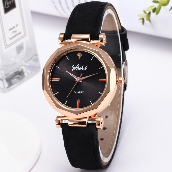 Luxury Brand Leather Quartz Watch Women Ladies Fashion Bracelet Wrist Watch Clock Female Relogio Feminino Reloj Mujer