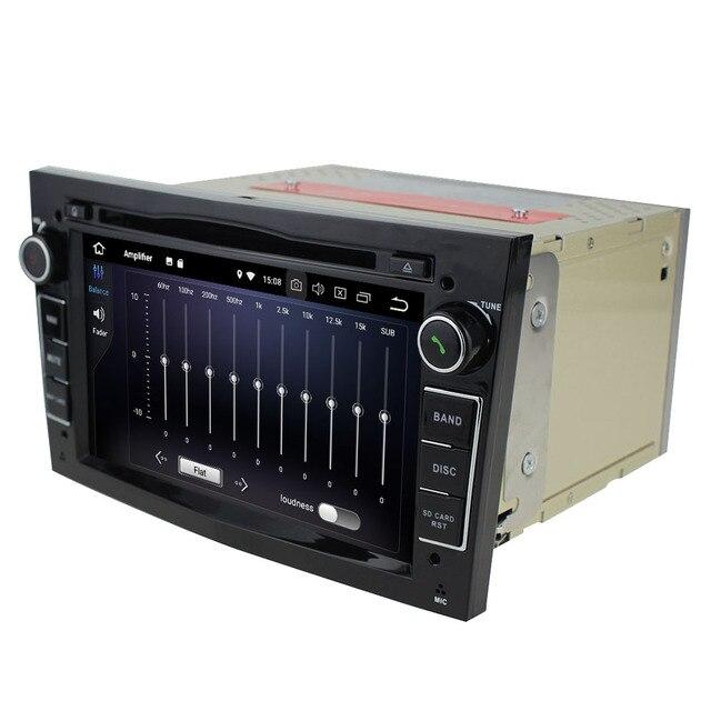 DVD GPS de 7 pouces Navi 2Din 6 Core   Lecteur Mutimedia, 4 go de RAM 64 go de ROM, Android 9.0, pour OPEL Astra/Antara/Vectra/Corsa/Zafira