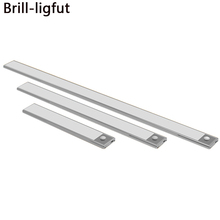 Ultra-thin 23/40/60CM PIR Motion Sensor LED Under Cabinet Light