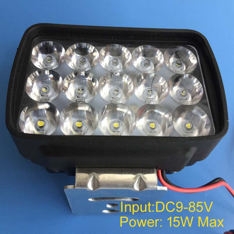 High quality 15w LED electrocar lamp,high power led electrombile bulb light DC 9V 12V 18V 24V 36V 48V 60V 72V 80V LED bulbs free shipping 5pcs/lot image