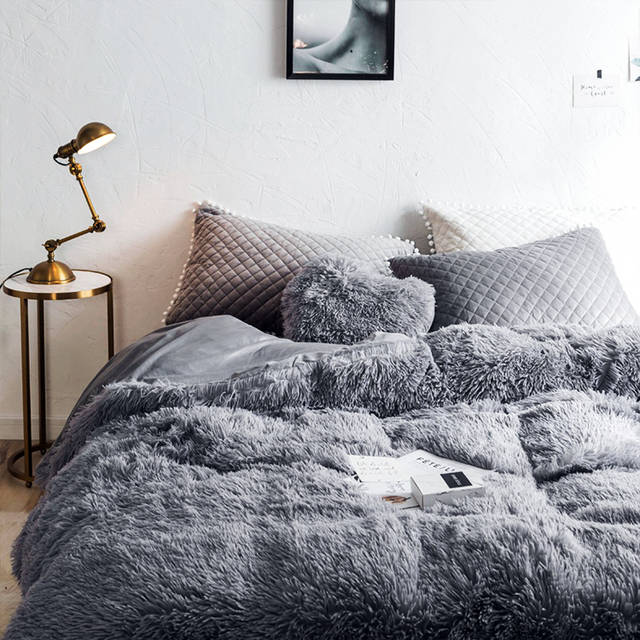 Warm Fluffy Blanket for Bed 2