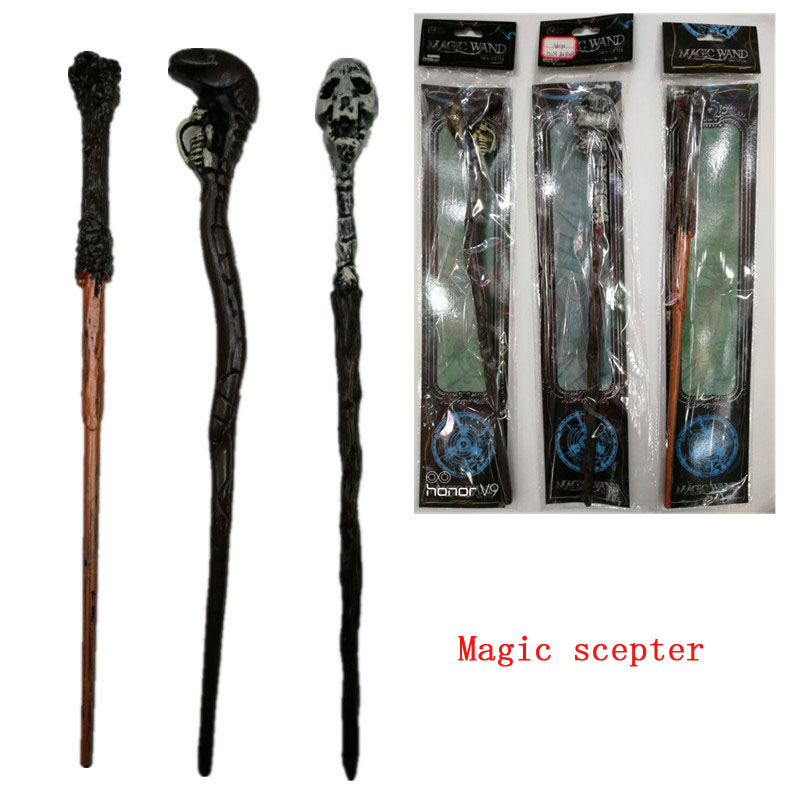 New Magic Wand Halloween Toys Children Adult Toys Party Stage Props Shantou Scepter Cane Wand Halloween Series Toy Gifts