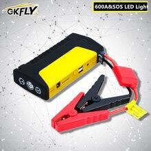 Gkfly Emergency Auto Jump Starter Starten Apparaat Power Bank Auto Batterij Booster Buster Auto Starter Kabel Voor Diesel Benzine Auto