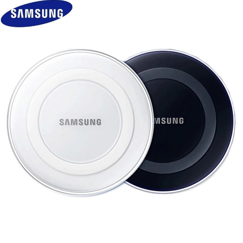 Samsung Qi Wireless Charger 5V/2A Adapter Charge Pad For iphone X XS XR MAX Galaxy S6 S7 Edge S20 S10 S9 S8 S7 Plus Note 8 9 10
