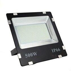 ضمان مدى الحياة 500 واط led الكاشف ip65 ليد خارجي مقاوم للماء الأضواء الكاشفة ضوء النهار الأبيض AC170-245V أضواء led