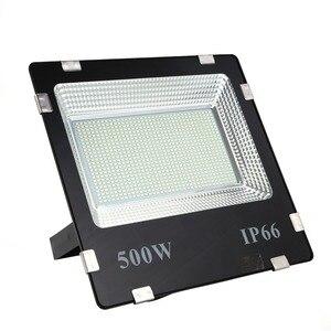 Image 1 - LIFELONG WARRANTY 500w led Floodlight ip65 Waterproof Outdoor led Flood Lights Daylight White AC170 245V led Spotlights