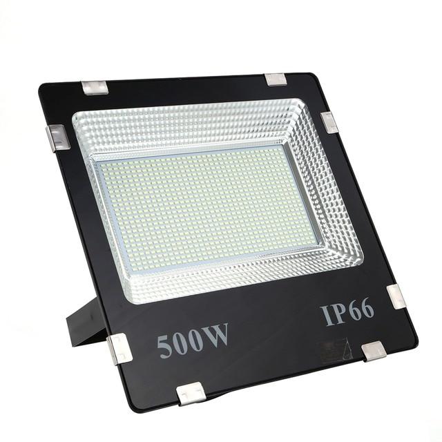 LIFELONG WARRANTY 500w led Floodlight ip65 Waterproof Outdoor led Flood Lights Daylight White AC170 245V led Spotlights