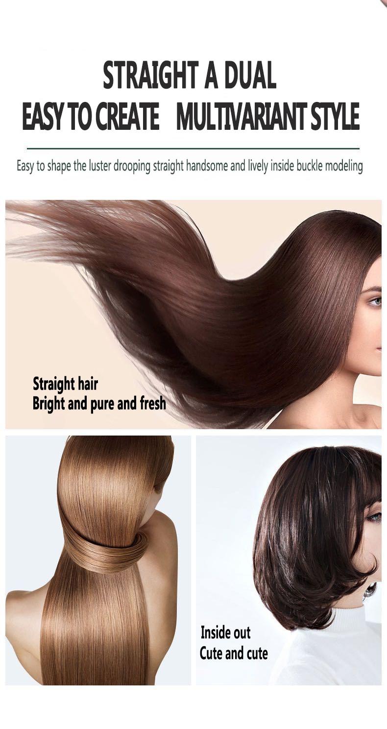 Ferro de ondulação mini escova de cabelo