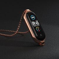 Halskette für Mi Band 6 Strap für Mi Smart Biegen 5 Armband Anhänger für Xiaomi Miband 4 3 Metall Armband hängenden Hals Dekoration