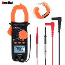 RuiShui606A Clamp Meter Multimeter High quality Automatic Range pinza amperimetrica AC/DC Ohm Current Voltage Digitl clamp meter