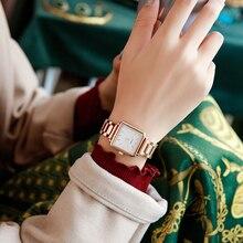Cadisen 2020 Luxe Top Brand Vrouwen Horloges Vierkante Quartz Dames Horloge Rose Gouden Klok Waterdichte Mode Vrouwelijke Horloge