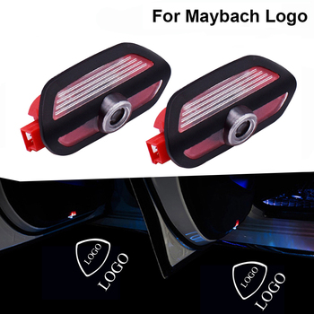 For Mercedes Benz S Class AMG S65 S63 S550 S400 S600 W222 Car Door Light Led Laser Projector Ghost Shadow Lamp for MAYBACH Logo image