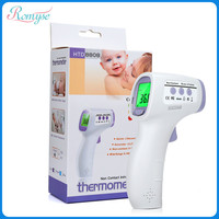 1 15cm Infrared Digital Fever Thermometer Temperature Monitor Health Care Non Contact Forehead Ear Thermometers for Baby Adult