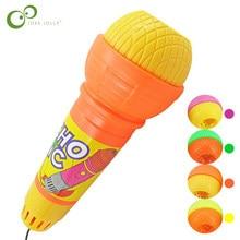 1PC mikrofon zabawki dla dziewczynek chłopcy Echo mikrofon zmieniacz głosu zabawka prezent prezent urodzinowy Kids Party Song ZXH