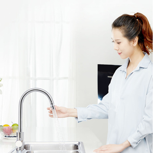 Image 3 - Youpin DABAI Kitchen Faucet Aerator Water Diffuser Bubbler Zinc alloy Water Saving Filter Head Nozzle Tap Connector Double Mode