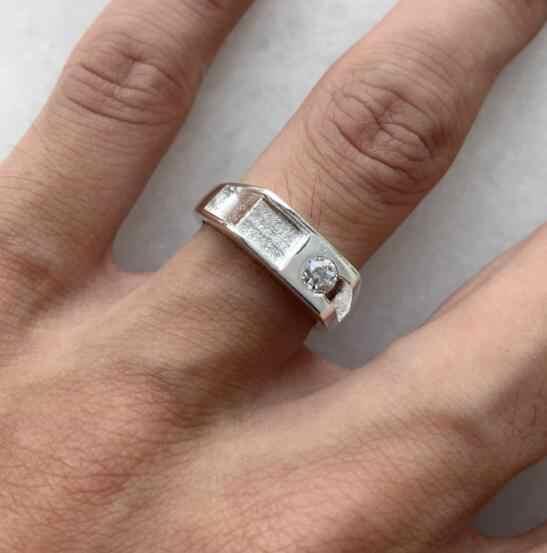 ขายส่ง 925 เงินแฟชั่นเครื่องประดับแหวนผู้หญิง R008