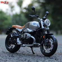 Maisto 1:12 BMW latte R nineT Scrambler simulation alloy motocross Series original authorized motorcycle model toy car Collecting gifts