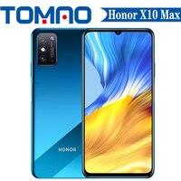 Honor-teléfono inteligente X10 Max 5G, Original, con cámara trasera de 48MP, pantalla grande de 7,09 pulgadas, 6GB, 8GB de RAM, 128GB de ROM, ocho núcleos, MTK6873, 5000Mah, NFC
