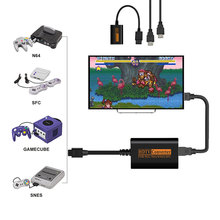 720P HDMI Adapter Converter HD Cable Adapters For Nintendo 64/SNES/NGC/SFC Gamecube Console Accessories For N64 SNES NGC SFC