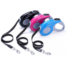 Roulette for Dog Automatic Retractable Leash Cat Puppy Adjustable Rope Length Pet Walk Small Medium Traction