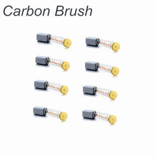 8Pcs A Lot Mini Drill Electric Grinder Replacement Carbon Brushes Spare Parts for Electric Motors Dremel Power Tools 4.7x5x8mm(China)