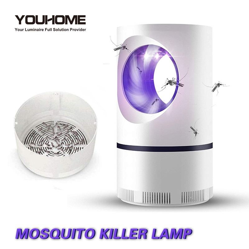 Led Mosquito Killer Lamp UV Night Light No Noise No Radiation USB electric for home décor light Insect Killer Flies Trap Lamp(China)