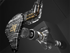 Image 3 - AUGLAMOUR T100 גרפן קואקסיאלי הכפול דינמי נהג 2Pin 0.78mm HiFi ב אוזן אוזניות עם מיקרופון