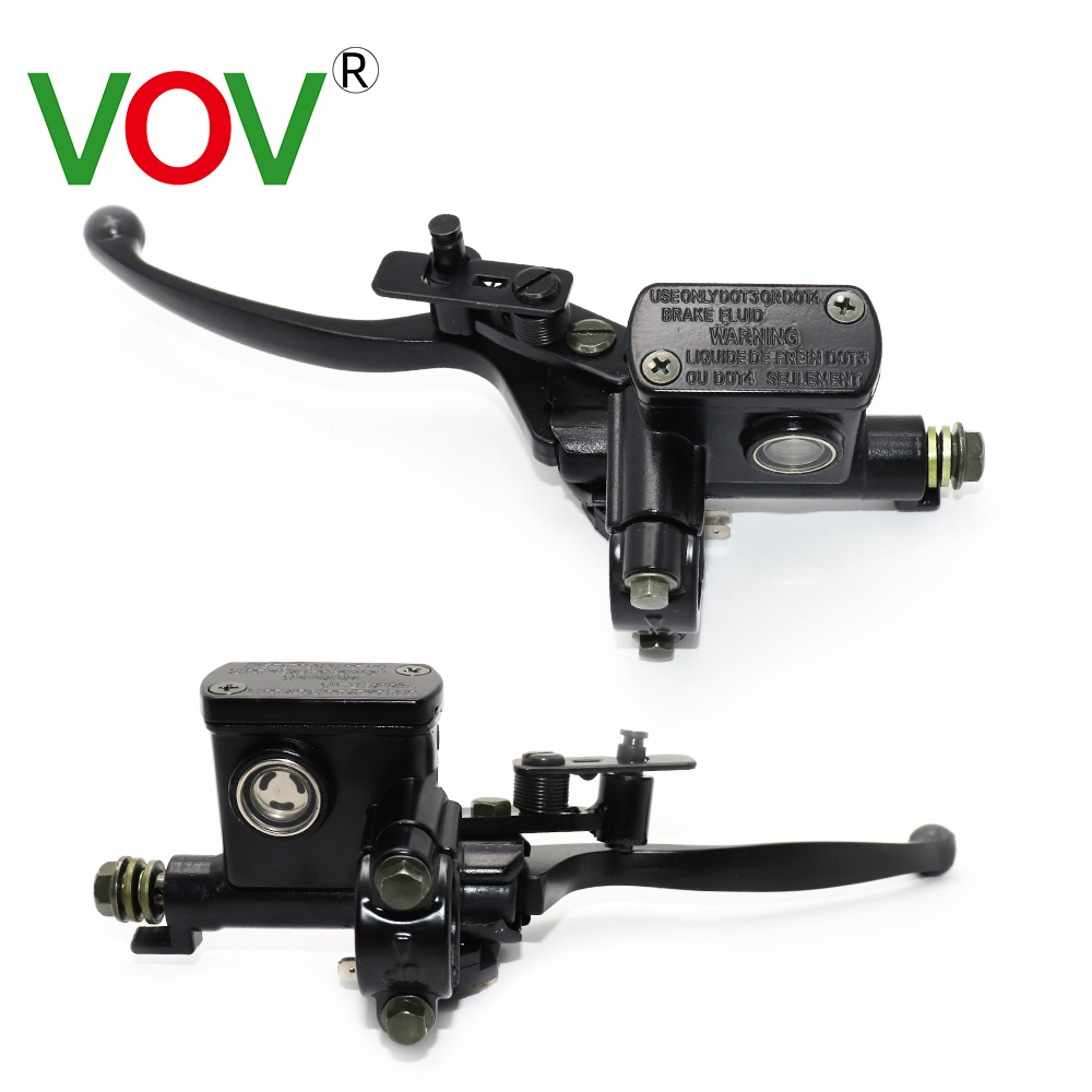 Hydraulic  Brakes Clutch Lever Brake Motorcycl Pump Buggy 50-250 CC Cylinder Hydraulic Handle Accessories Left Right Brake Lever