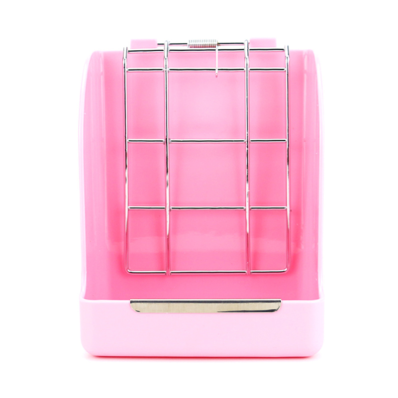 Rabbit Grass Feeder Spring Straw Frame Hay Basket Small Pet Guinea Pig Totoro Cage Accessories Fixed Food Container Bowl
