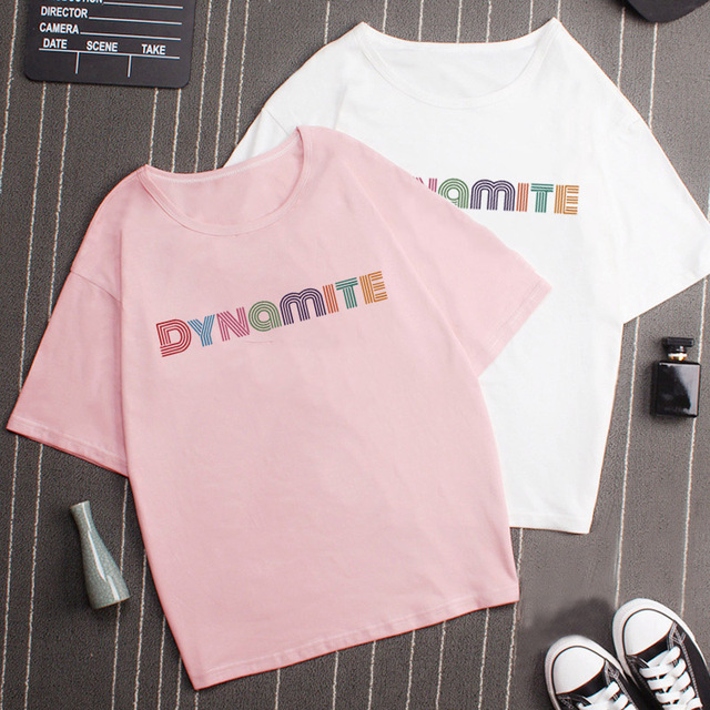 BT DYNAMITE THEMED T-SHIRT (5 VARIAN)