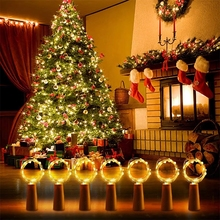 Battery Operated LED Fairy String Lights Wine Bottle Lights with Cork 30 Pack 20 LED  for DIY Party Decor Christmas Wedding