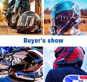 Image 5 - 2PCS Lexin B4FM 4 Vie Bluetooth moto rcycle Citofono del Casco Cuffie, A mani libere senza fili cascos intercomunicadores moto musica