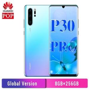 Глобальная версия Huawei P30 Pro мобильный телефон 6,47 дюймов OLED полный экран Kirin 980 Восьмиядерный 8 Гб 256 ГБ в-экран 40 Вт SuperCharge