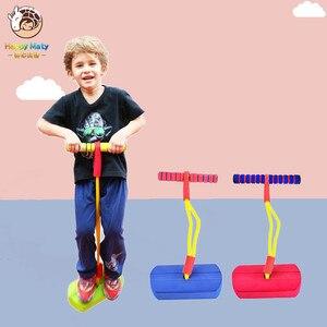 Dziecięca żaba jump zabawka przedszkole bounce sense trening lalka skok podskakujące buty outdoor sports dzieci sens zabawka szkoleniowa