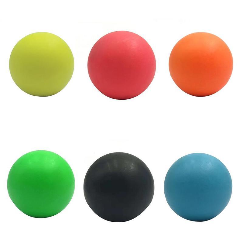TPE Fitness Lacrosse Ball Relieve Massage Shooting Fascia Ball Training Hockey Ball massage ball