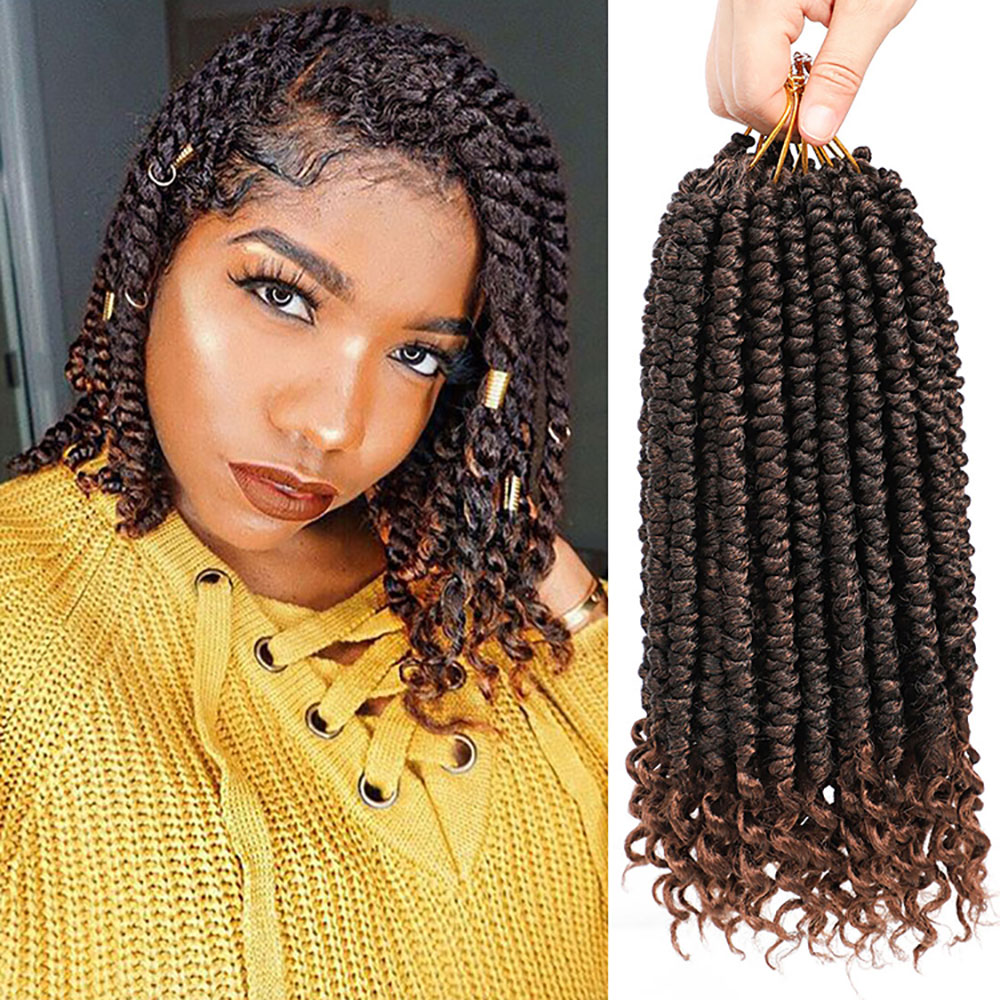 Senegalese Twist Hair Extensions Ombre